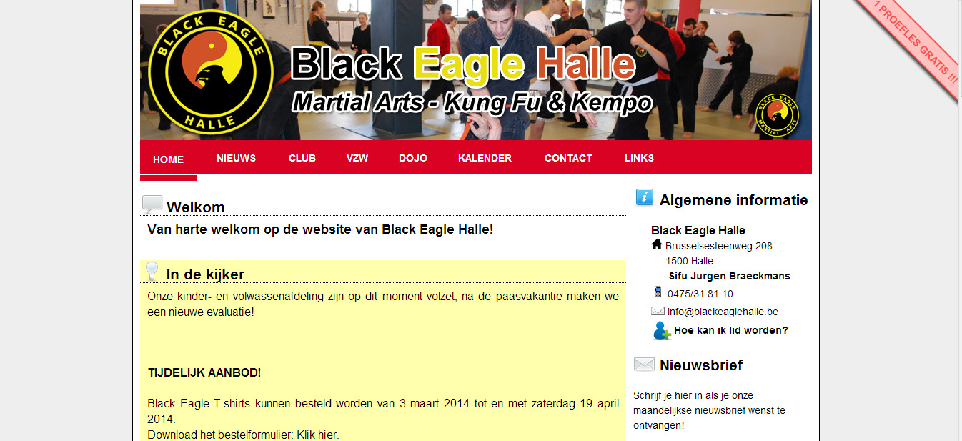 Black Eagle Halle VZW