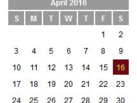 AIA upcoming activities calendar